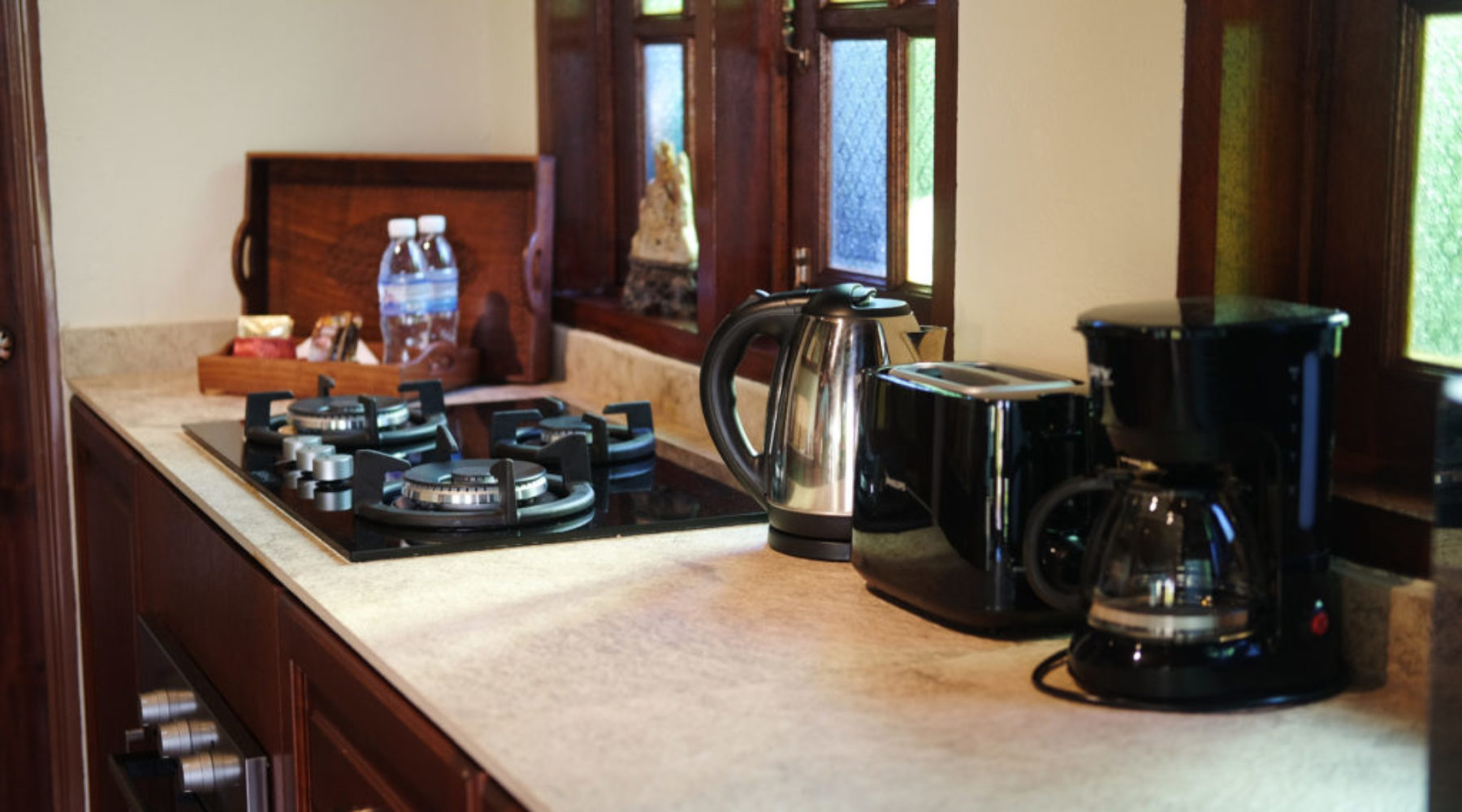 Langkawi Villa Cathaya fully equipped kitchen for self-catering holidays